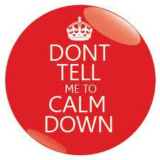 Don't Tell me To Calm Down